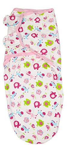 Summer Infant SwaddleMe - Pucksack Dschungel , Mehrfarbig, Small/Medium