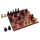 DURABLE AND BEAUTIFUL: Constructed from high-quality materials that are built to last with an elegant design that is great for display. LEARN CHESS FAST: Learn the rules and master the moves of Chess in no time with a step-by-step instructive guide! ...
