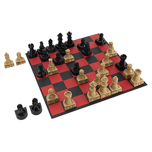 FAO Schwarz Chess Teacher Board Game, Learning Educational Toy for Adults and Kids Ages 6 and up