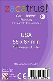 Amazon.es: fundas cartas 56x87mm