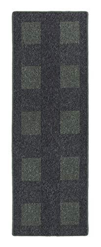 andiamo Teppich Flachgewebe Dalia strapazierfähig schadstoffgeprüft 67 x 200 cm grün
