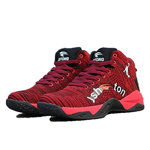 Zapatillas Altas de Baloncesto para Hombres Zapatillas de De