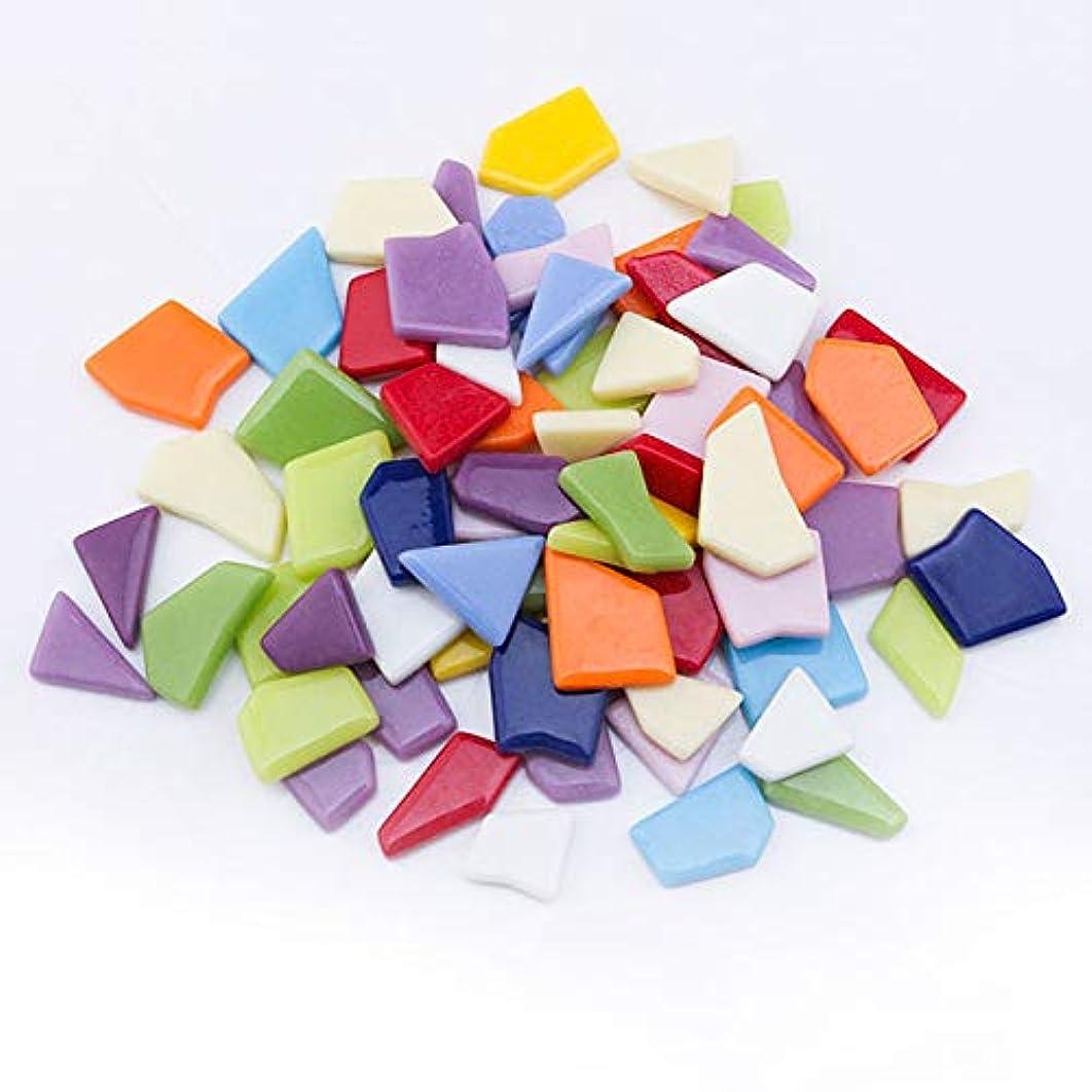 UW Glass Tiles Artcraft Mosaic Pieces for Handmade and DIY Craft (Irregular Shape, 568g/1.25lb/Jar)