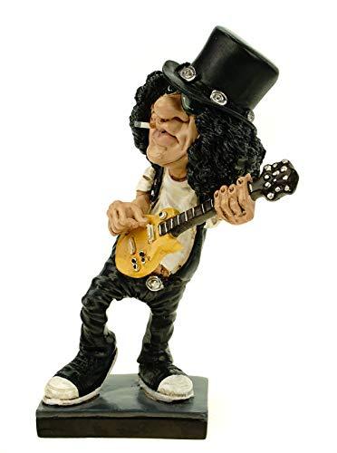 Joh. Vogler GmbH 841-2384 Funny Live Rockstar Gunner by Warren Stratford lustige Figur Skulptur Karikatur