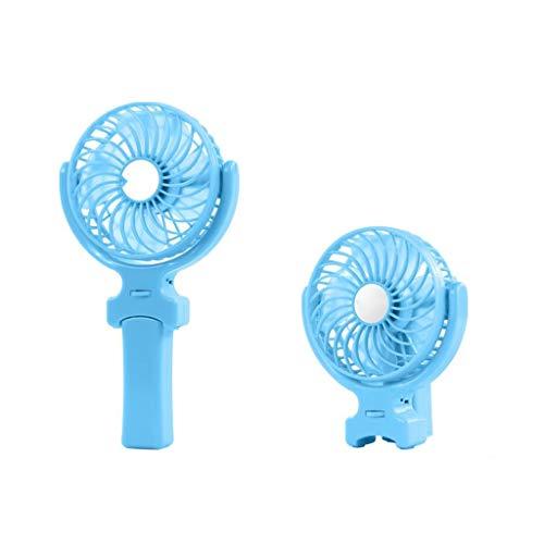 BHJqsy Ventilatore Portatile Sub ventrale Regolabile/Ventola Esterna Portatile Ricaricabile/Pieghevole Maniglia Desktop da casa e da Viaggio Mini elettroventilatore