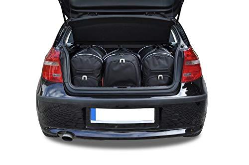 KJUST Reisetaschen 3 STK Set kompatibel mit BMW 1 Hatchback E81/E87 2004 - 2011