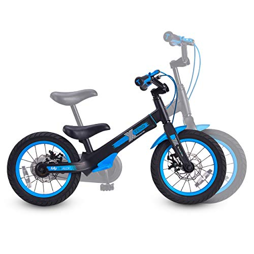 smarTrike Xtend Mg+, 3-in-1 Convertible Kids Bike for Ages 3-6, with Attachable Pedals (Blue)