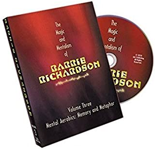 Magic DVD: Magic and Mentalism of Barrie Richardson Vol. 3