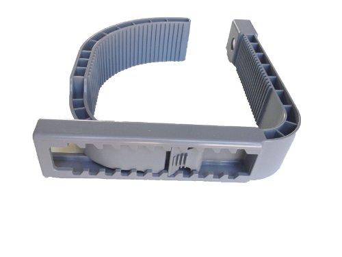 Halterung Skimmer, für Intex Easy Pool, (Quick up) mit aufblasbarem Rand, breite Ausführung,grau