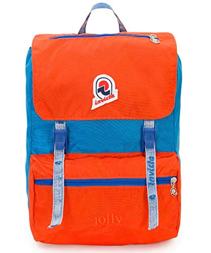 Invicta Jolly Vintage Rucksack, 35 cm, Orange (B37)