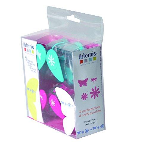 Artemio Set de perforadoras para Decorar, Multicolor