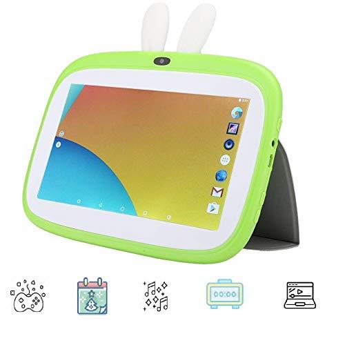 7 inch WIFI Kids-tablet, Quad Core 1024 * 600 1 + 8G Bluetooth-tablet voor Android 6.0, Ondersteuning voor games / kalender / waarschuwing / muziek / video voor Android 6.0, beste cadeau voor kinderen. (EU)