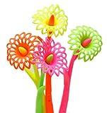 Ensemble de 12 joli fleur fragrance Signature Pen (Couleur aléatoi)