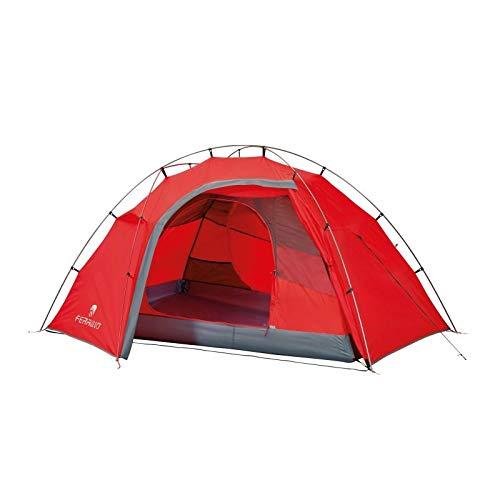 Ferrino Tent Force 2 FR, Gazebo Unisex-Adulto, Rosso, Taglia unica