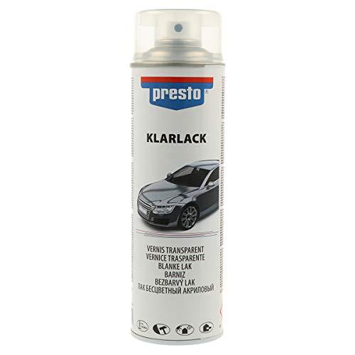 presto 428979 Rallye-Spray, 500 ml, Klarlack Glänzend