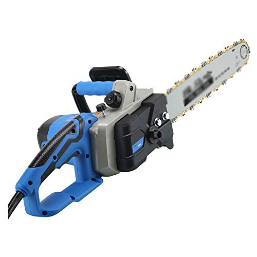 IRi 16-Inch Electric Chainsaw, Wood Cutter Machine with Automatic Chain, Chain Saw with Auto Oiler-Soft-Touch Grip and Hand Guard