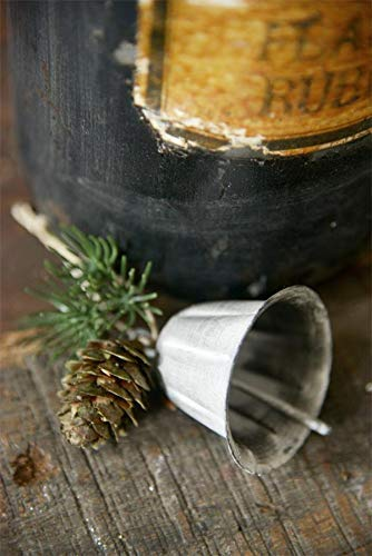 Jeanne D´Arc Vintage Campanas Navidad Guirnalda Campana Bell H 5cm Shabby Dios Jul
