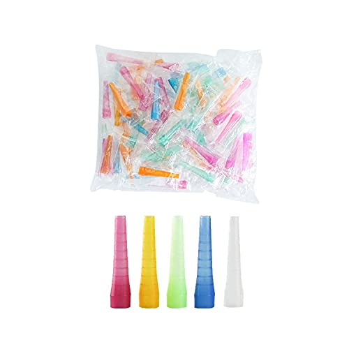 Boquillas desechables para pipas de agua, accesorios para shisha, manguera universal para tubo de chicha, 100 unidades, 53 mm de...