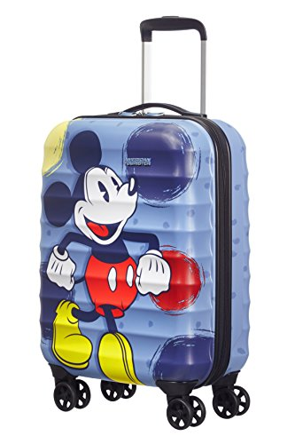 Disney By American Tourister Palm Valley Disney Bagaglio a Mano 55/20 Mickey, Policarbonato, 32 ml, 55 cm
