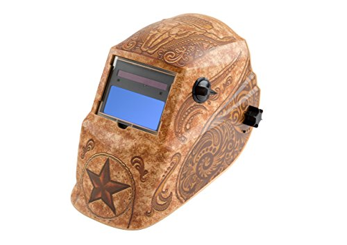 Lincoln Electric K4134-1 Lone Star Auto Darkening Welding Helmet with Grind Mode