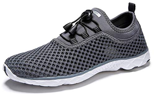 Zhuanglin Men's Quick Drying Aqua Water Shoes,Darkgrey%,10.5 D(M) US