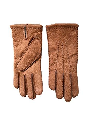 Hungant Herren Peccary Handschuhe Lederhandschuhe Ohne Futter Cork (9.5, Cork)