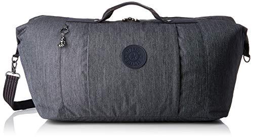 Kipling Adonis M Bolsa de Viaje, 78 cm, 63 Liters, Azul (Active Denim)