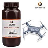 ERYONE 405nm Resina UV para impresora DLP LCD 3D Fotopolímero Translúcido 0.5kg, Gris
