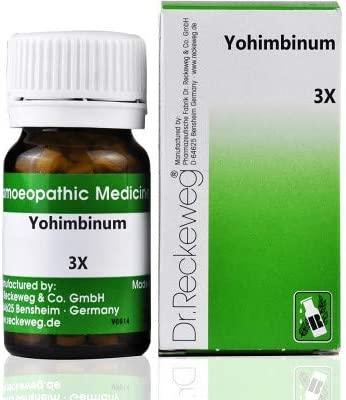 Dr. Reckeweg Germany Homeopathic Yohimbinum - 3X 20gm Import It is very popular by Ayur-