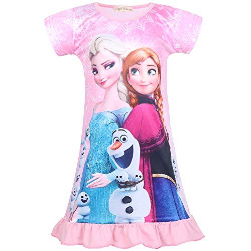 Meisjes Fairy Jurk Nachthemd Nachthemd Nachtjaponnen