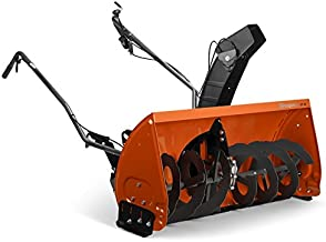 Husqvarna 967343901 Two Stage Lawn Tractor Mounted Snow Thrower (Manual Lift)
