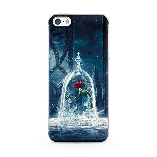 Ert Group DPCBBEAUTYR301 Custodia per Cellulare Disney Beauty and the Beast 002 iPhone 5/5S/SE