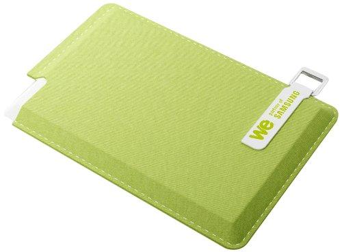 """WE Inside Serie 840 EVO - 120 GB - custodia verde - Hard disk SSD esterno da 2,5"""""""
