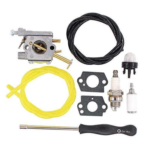 ApplianPar Carb Carburetor Kit for Homelite 33cc Chainsaw Replace Walbro WT673 WT-673