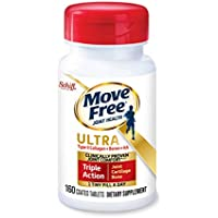 160-Count Move Free Type II Collagen and Boron Joint Health Tablets