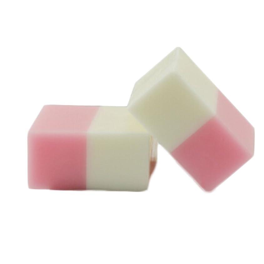 TerGOOSE 石鹸 無添加 固形せっけん 洗顔 美白 ローズ+ミルク 100g
