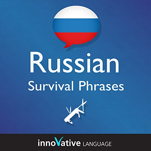 Learn Russian - Russian Survival Phrases: Lessons 1-25 cover art