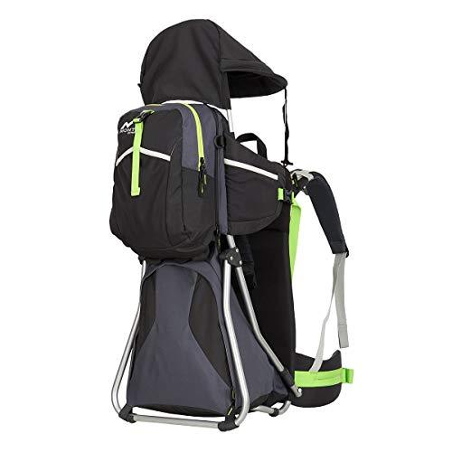MONTIS Hike - Porte-bébé Dorsal - jusqu'à 25 kg - Plusieurs Coloris (Noir)