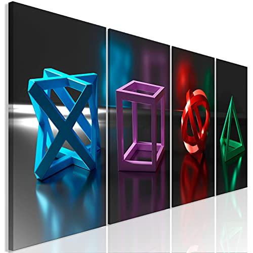 murando Cuadro en Lienzo para Jugadores 80x30 cm Impresión de 4 Piezas Material Tejido no Tejido Impresión Artística Imagen Gráfica Decoracion de Pared - 3D Efecto Play Game Gaming i-A-0196-b-i