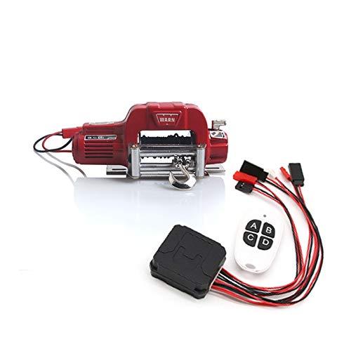 Heritan Sistema de mando a distancia de metal automático para 1/10 RC Crawler Car Axial SCX10 TRX4 piezas de actualización, 1