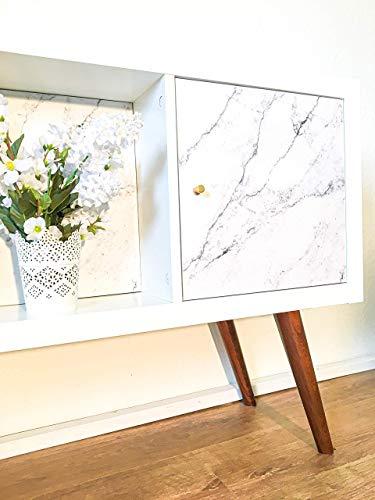 4 x IKEA Kallax Regal Füße Möbelfüße Regalbeine in verschiedenen Größen und Holzoptiken | leichte Montage | modernes Design