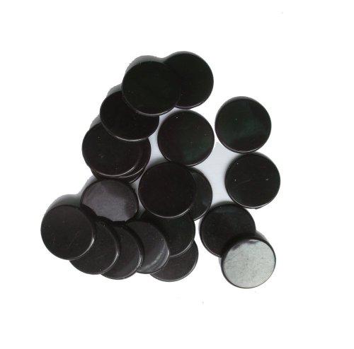 SchachQueen - Spielmünzen & -marken in Schwarz