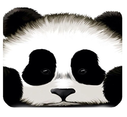 Custom Cute Panda Gaming Mouse Pad Durable Office Accessory Rubber Mousepad Mat