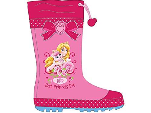 Disney Princess Palace Pets Bottes de pluie en caoutchouc - - Rose, 30 EU