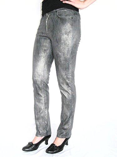 Angels Damen Jeans 3430-312-1398 Modell Cici silber-metallic Größe 36