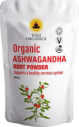 Yogi Organics Organic Raw Ashwagandha Poeder-500gram