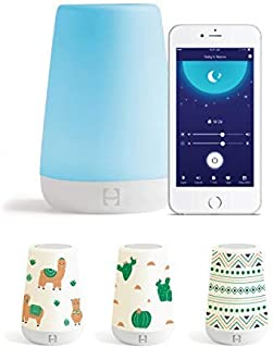 Hatch Baby Rest Sound Machine, White Noise Soother for Better Sleep, Night Light, Time-to-Rise, Kids and Toddler Alarm Clock, Nightlight with Coverlets (Alpaca Adventures)