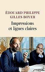 Impressions et lignes claires d'Edouard Philippe