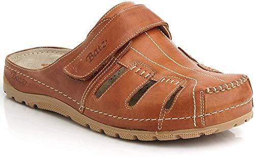 Batz Sandalen aus hochwertigem Leder (Braun) - 2