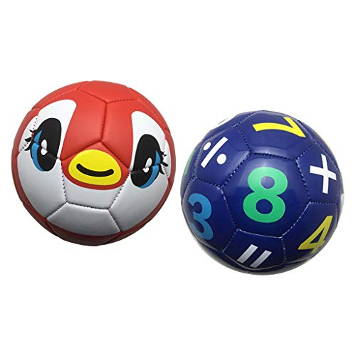sharprepublic 2PC Soccer Football Size 2 Skill Training Ball Juguetes para